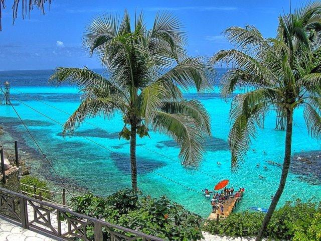 Parque Garrafon Natural Reef Park em Cancún | México
