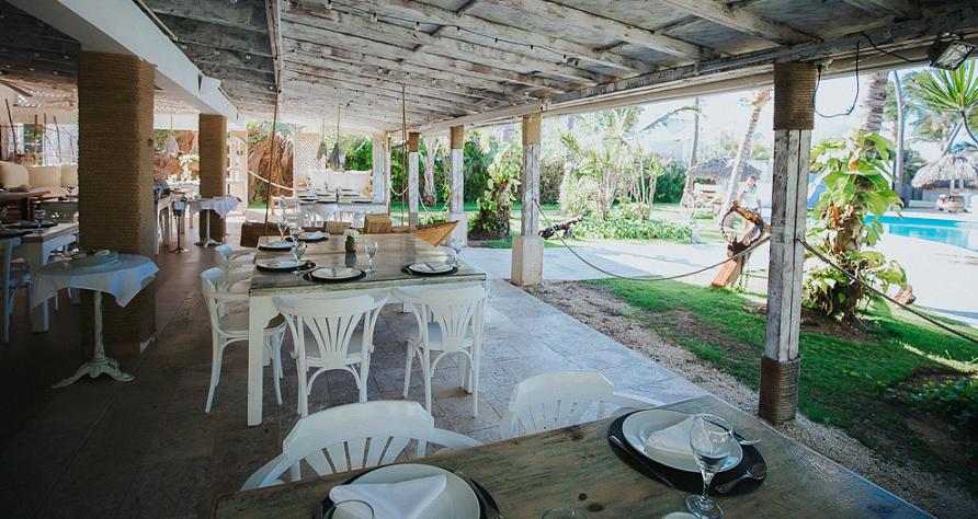 Restaurante Kukua Beach Club em Punta Cana
