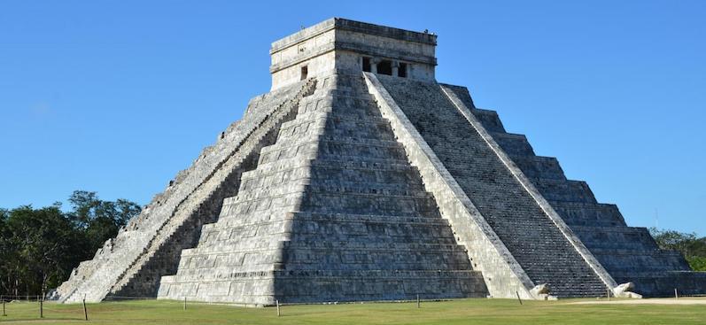 Pirâmide em Cancún