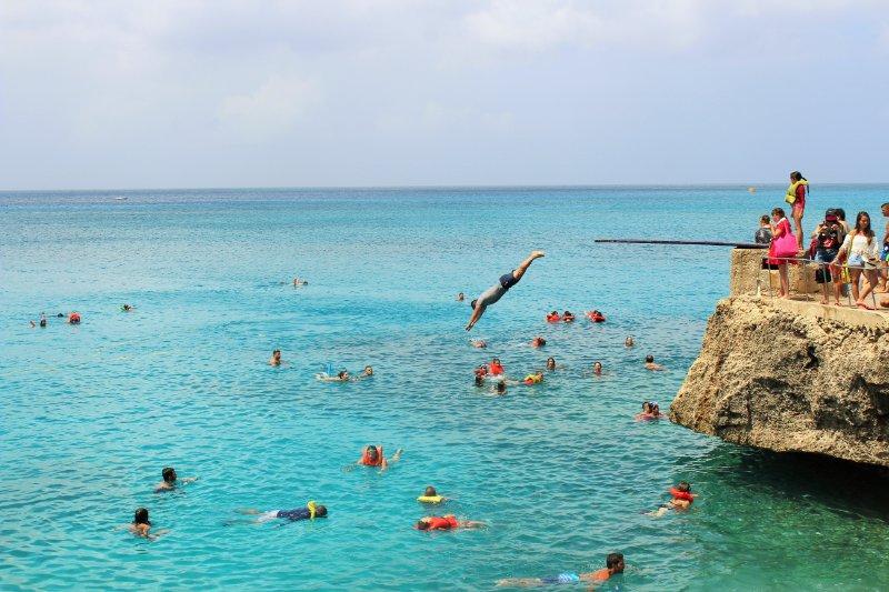 Mergulhos no verão em San Andrés