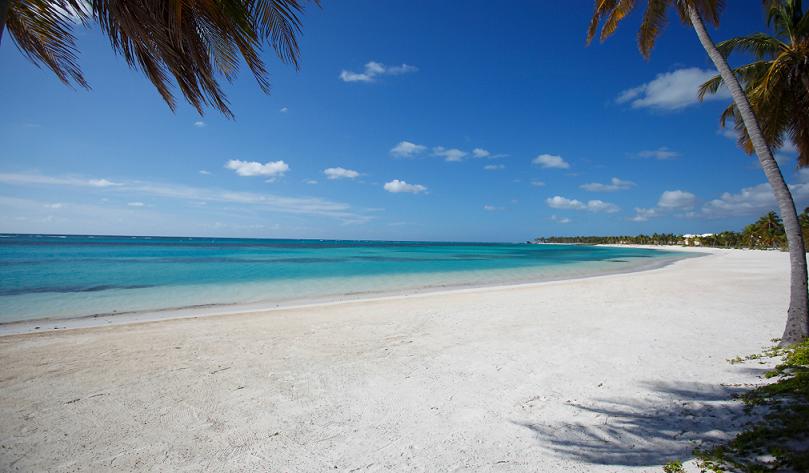 Praia Bávaro em Punta Cana