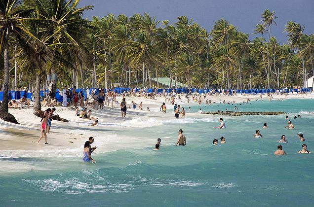 Praias para crianças em San Andrés