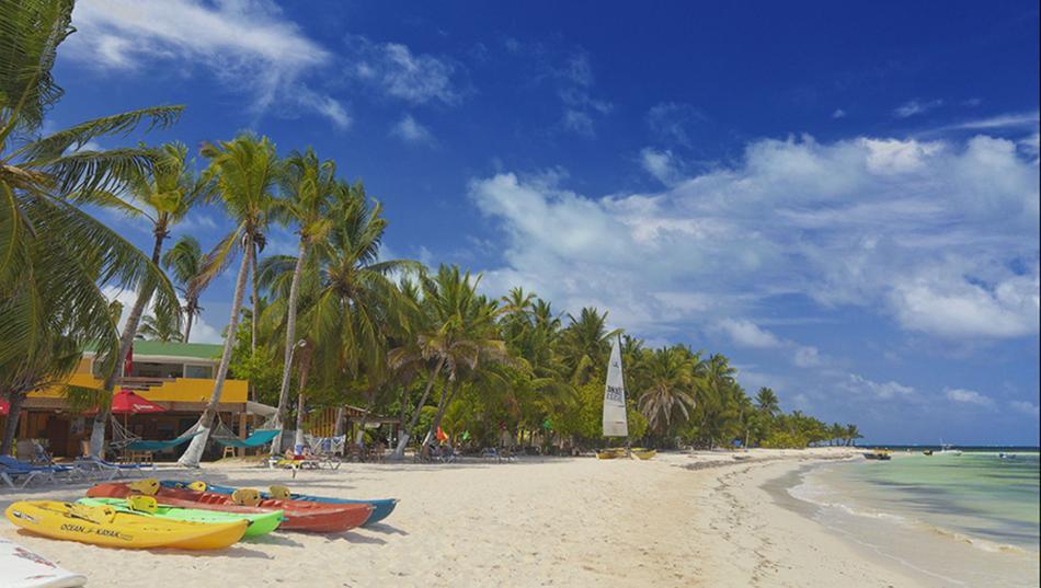 Praias de San Andrés no inverno