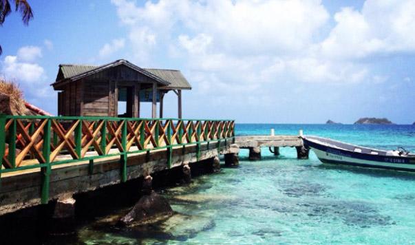 Praias e passeios de barco na lua de mel