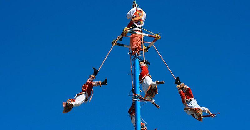Performances no Parque Xcaret em Cancún