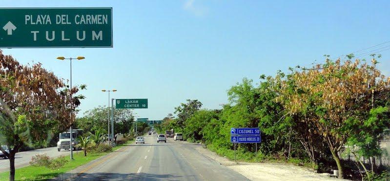 Como chegar na região de Tulum em Cancún