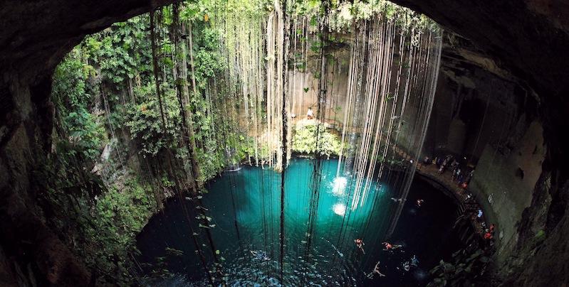 Cenote Ik Kil em Cancún
