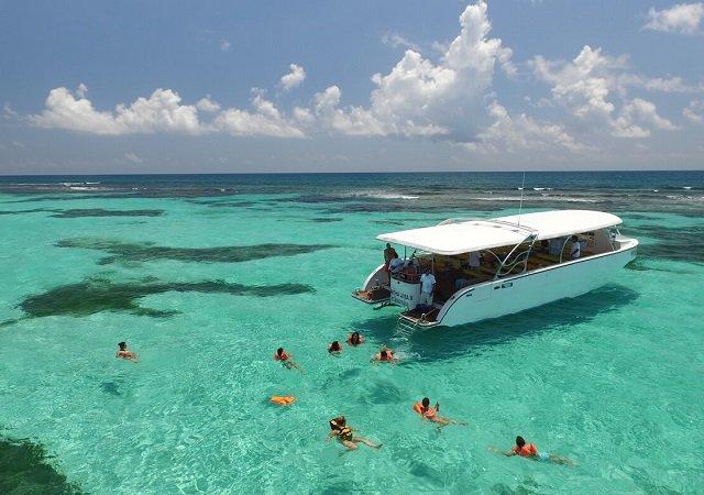 Isla Contoy em Cancún no México