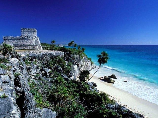 Região de Tulum em Cancún no México