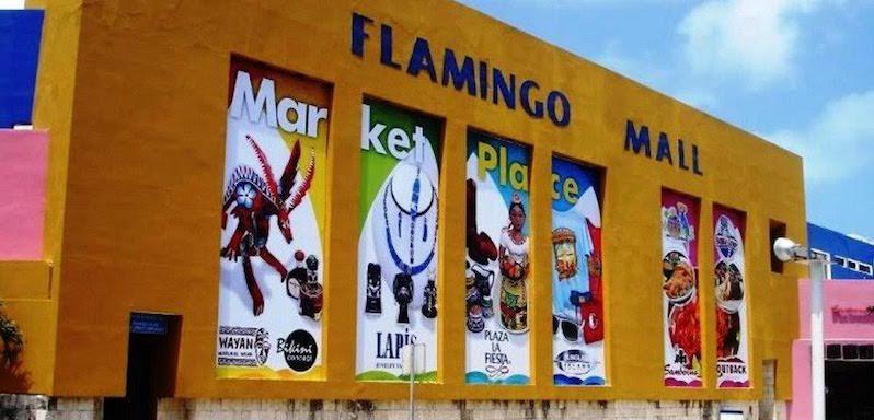 Shopping Flamingo Plaza em Cancún