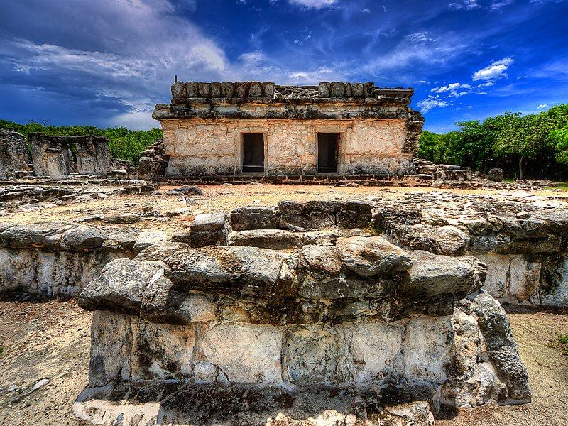 Ruínas em Cancún